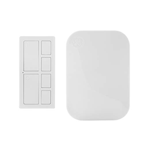 GE mySelectSmart Wireless Remote Control Light Switch with Countdown, On/Off, 4 Timer Options, 1 Outlet, 150 ft. Range from Plug-In Receiver, Ideal for Lamps & Indoor Lighting, No Wiring Needed, 36240
