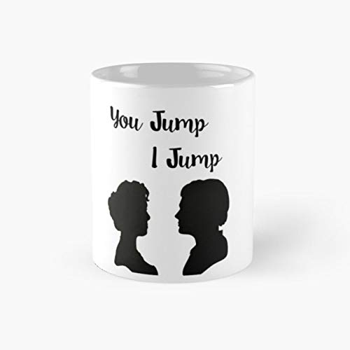 TITANIC - YOU JUMP, I JUMP Mug, titanic Funny Mugs, 11 Ounce Ceramic Mug, Perfect Novelty Gift Mug, Tea Cups, Funny Coffee Mug 11oz, Tea Mugs ()