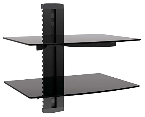 MyCableMart A/V Equipment Shelves  for LCD/Plasma Wall Mount