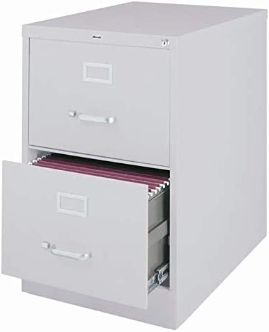 Scranton Co 2 Drawer Legal File Cabinet in Gray