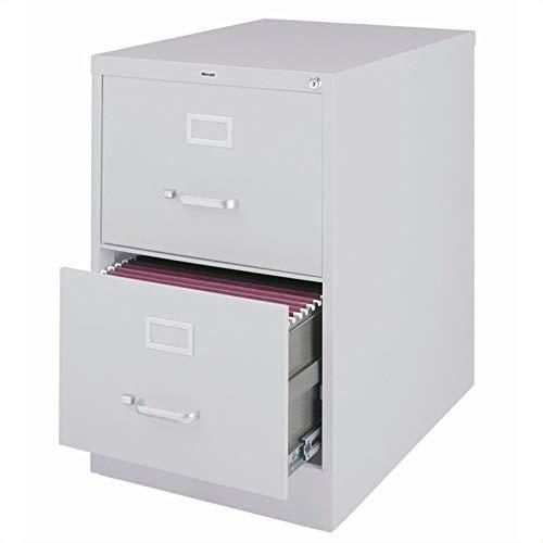 Scranton & Co 2 Drawer Legal File Cabinet in Gray by Scranton & Co