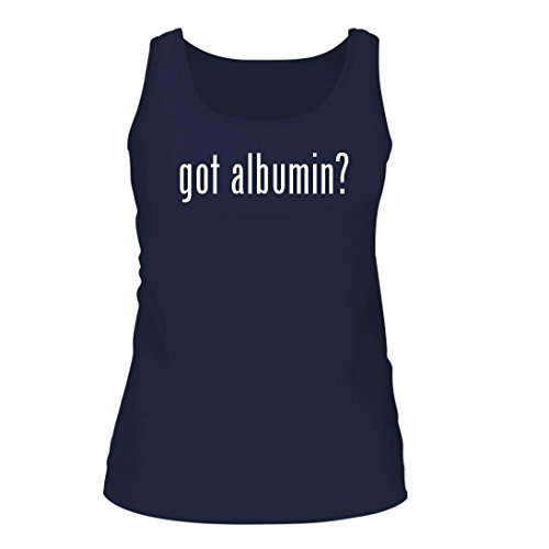 got albumin? - A Nice Women's Tank Top, Navy, Large
