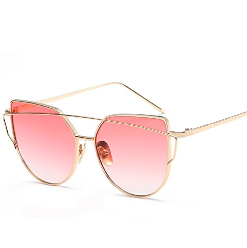 Sol de Gafas Gafas Sol ZYXCC de Gafas Metal Sol 3 de Mujer de Color Sol Colores Mujer de Gafas 7 Sol Moda Gafas YANJING de de Moda de de de Múltiples qa7wRpX