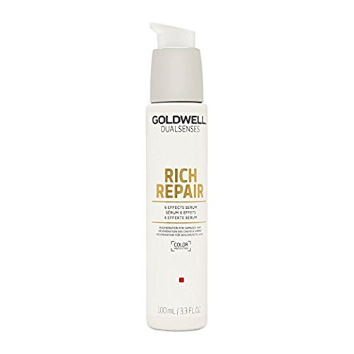Goldwell Dualsenses Rich Repair Restoring 6 Effects Serum Treatment For Healthy, Silky Shine 3.4oz