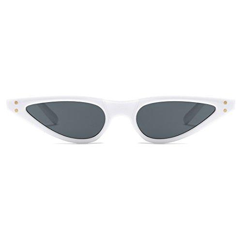 Metal Ojos Plástico Blanco Para Pequeña amp;negro De Bisagras Mujer Marco kimorn K0578 Gato De De Gafas Sol De w4qUa0B