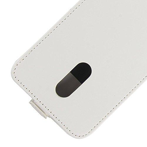 Para Xiaomi Redmi Note 5 / Redmi 5 Plus Caso compacto de piel PU, arriba-abajo piel abierta PU Funda de piel con ranura para tarjeta y función de protección completa con cierre magnético Caja a prueba Rosado