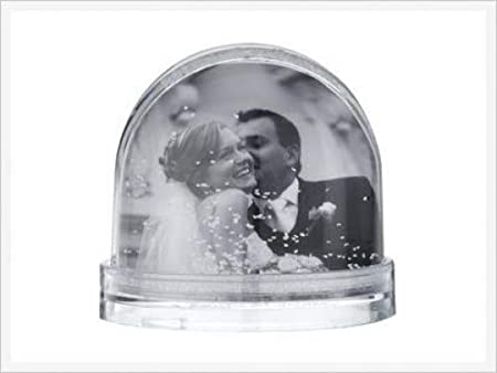 Photo Snowglobe - Insert your own picture: Amazon.co.uk: Kitchen & Home