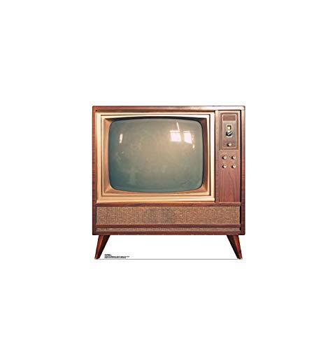 Advanced Graphics Vintage TV Life Size Cardboard Cutout Standup