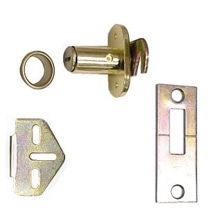 Sterling Folding Door Lock, CD-1064-B Brass Finish by Sterling