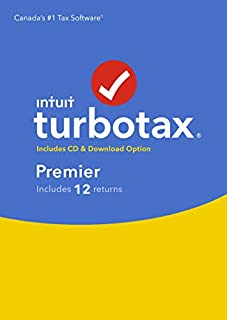 TurboTax/ImpotRapide Premier 2018, 12 returns (B07KGW9DQ6) | Amazon Products