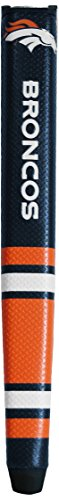 Team Golf NFL Denver Broncos Golf Putter Grip with Removable Gel Top Ball Marker, Durable Wide Grip & Easy to Control