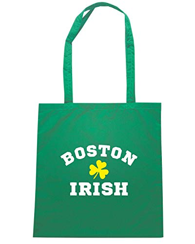 TIR0012 IRISH SHAMROCK Speed BOSTON Verde Borsa Shirt Shopper IxSvw1fRq