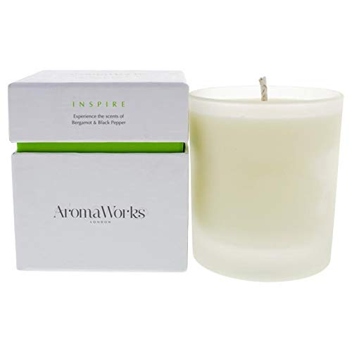 Aromaworks Inspire Candle By Aromaworks For Unisex - 7.76 Oz Candle 7.76 oz
