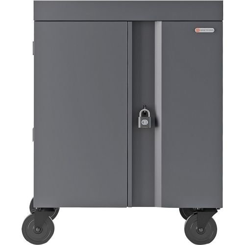 Bretford Cube Cart for 32 Netbooks/Tablets Gray, Charcoal (TVC32PAC-CK) ()