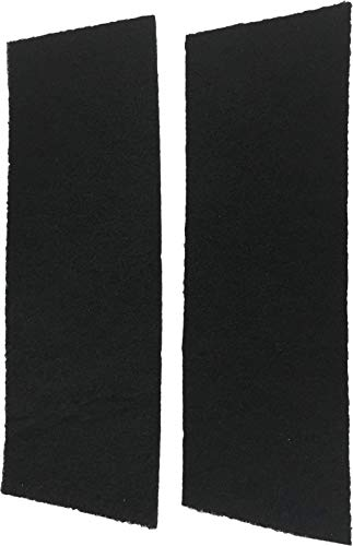 Replacement RV Air Conditioner Carbon Filter Compatible with Coleman 6703-3303 RV - 16'' x 5'' x 1/4'' -2 Pack (Replacement Air Conditioner Filters)