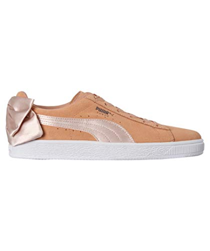 Dusty Suede Bow Puma Coral Zapatillas Rosa 4aq1YtpOc