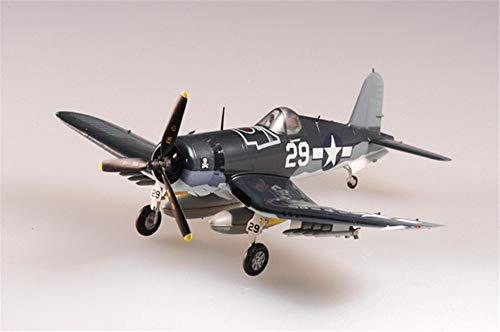 Easy Model US F4U Corsair Aircraft Fighter VF-17 IKE Kepford 1/72 Non diecast Plane ()