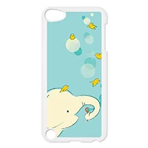 iPod Touch 5 Case White Blowing Bubbles S8B2ZY