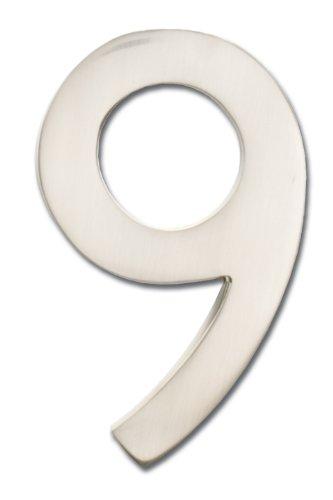 mailbox numbers metal - 1