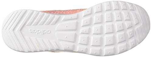 adidas Women's Cloudfoam Pure, Clear Orange/Solar red, 5 M US by adidas (Image #3)