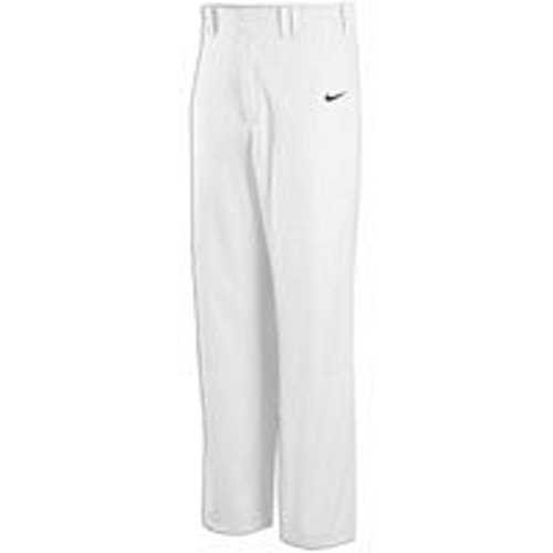 Nike Mens Stock Lights Out Baseball Pants White 535075 (X-Large)