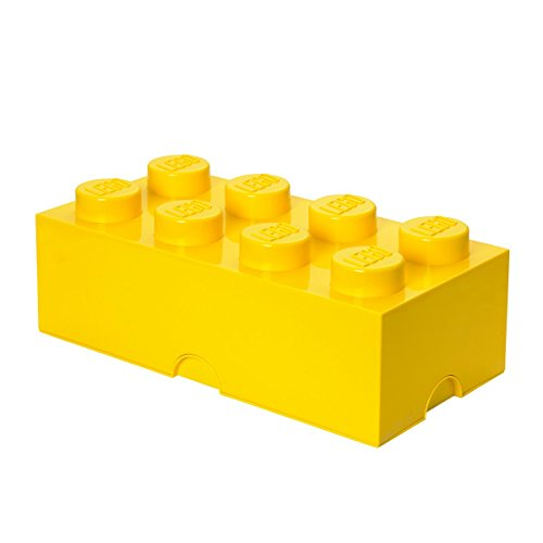 LEGO Storage Brick 8 Yellow product image