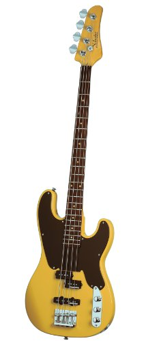 Schecter Model-T Electric Bass (Butterscotch) (Schecter Model)