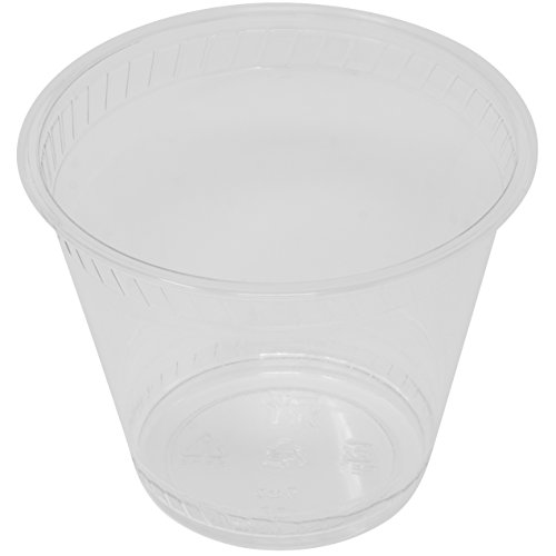 Price comparison product image Simply Deliver 9 oz Plastic Cup for Cold Drinks,  Crystal Clear PET,  1000-Count