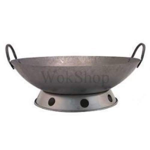 Hand Hammered Wok (incl. wok ring) ()