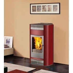 Edilkamin Estufa de Pellets 18 Kw Adria Italiana chimeneas: Amazon.es: Hogar