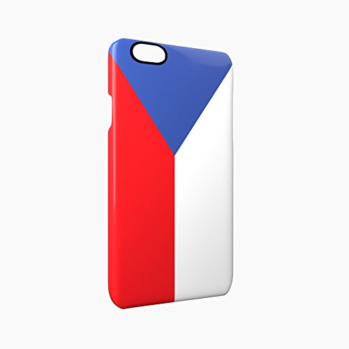 Flag of Czech Republic Glossy Hard Snap-On Protective iPhone 6 / 6S Case Cover