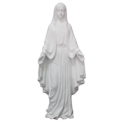 Virgin Mary Statue, The Blessed Mother is Great for Indoor a