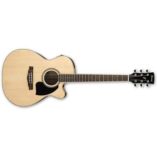 Ibanez PC15ECENT Performance Grand Concert Acoustic-Electric Guitar Natural ()