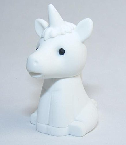 Iwako White Unicorn Eraser from Japan