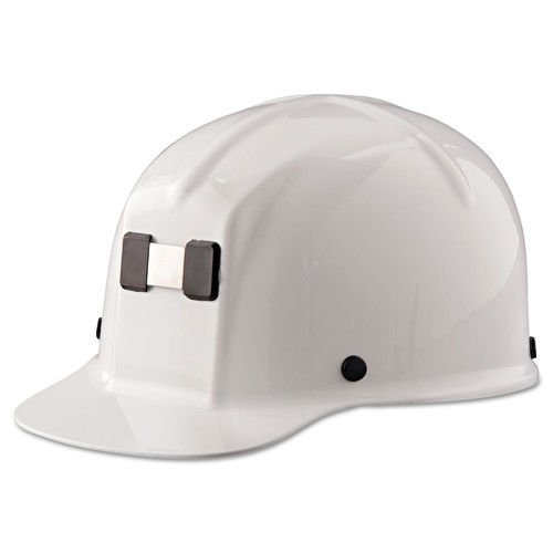 MSA Safety 91522 Comfo-Cap Protective Cap with Staz-On Suspension, White from MSA