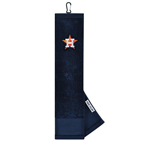 Team Effort MLB Houston Astros Face/Club Tri-Fold Embroidered Towelface/Club Tri-Fold Embroidered Towel, NA