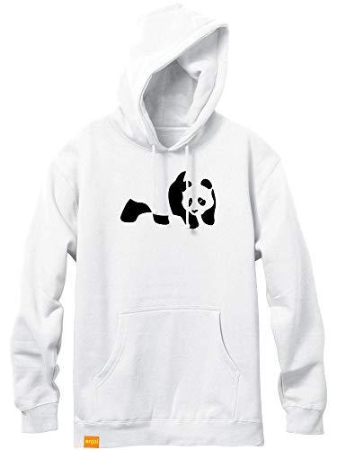 (Enjoi Panda Flocking White Pullover)