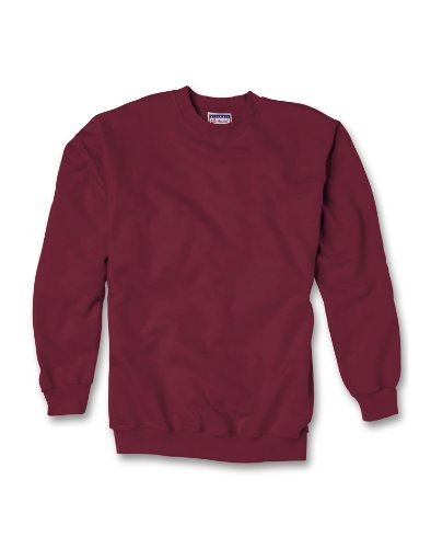 Hanes Adult Ultimate Cotton Crew, Maroon, XXX-Large