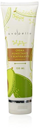 Avopelle Crema Humectante y Reafirmante Anticelulitis Corporal, color Verde Aguacate, 150ml