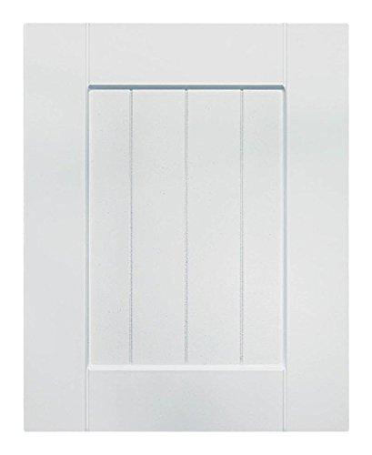 Cabinet Doors 'N' More 16'' X 22'' White RTF Beaded Shaker Kitchen Cabinet Door by Cabinet Doors 'N' More