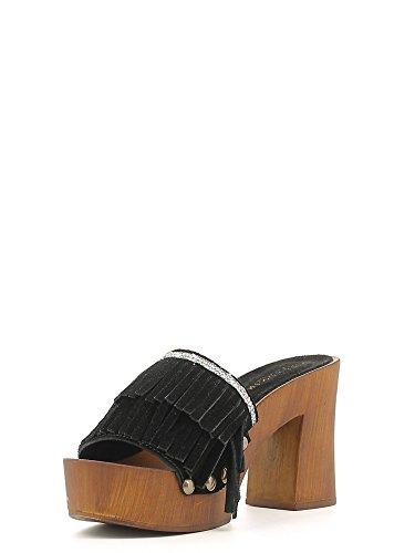 mujer zapato de cuero Café Noir ONC603 Nero