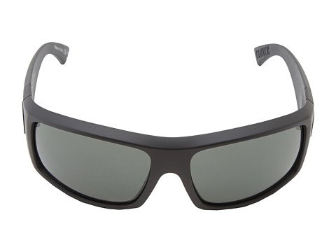 (Von Zipper Clutch Sunglasses-Black Satin-Grey)