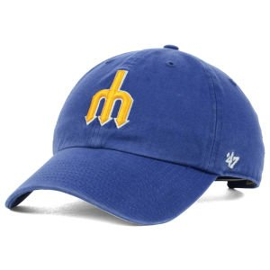Seattle Mariners Cooperstown '47 Clean Up Adjustable Hat / Cap