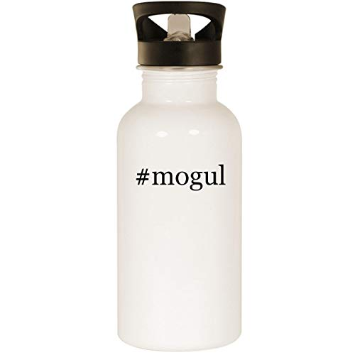 #mogul - Stainless Steel Hashtag 20oz Road Ready Water Bottle, White