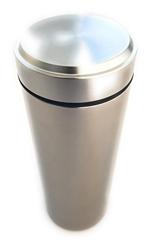 Stash Jar - Airtight Smell Proof Aluminum Herb Container Wat