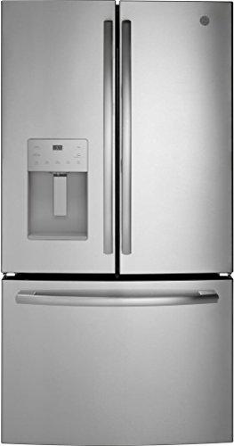 GE 25.5 Cu. Ft. French Door Refrigerator Stainless steel GFE26JSMSS