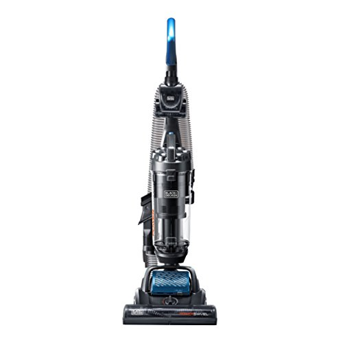 BLACK+DECKER BDPSC103 Powerswivel Upright Vacuum Cleaner, Blue