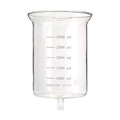 Yama Glass YAMCDM25TB Replacement Glass Piece CLEAR 25 CUP