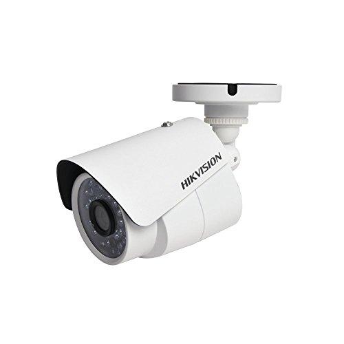 Hikvision Cámara Bala TurboHD 1080p (2 Megapixel) / Gran Angular 2.8 mm / 30 MTS IR Inteligente/Color Blanco / IP66 / Meta