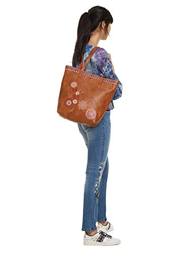 Donna Rio Women Borse Chandy Desigual Bag Zipper marron Marrone Spalla A xnZAER8q